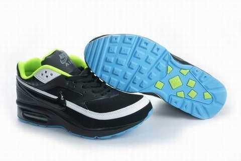 Nike Air Max BW Baskets Noir et blanc Noir